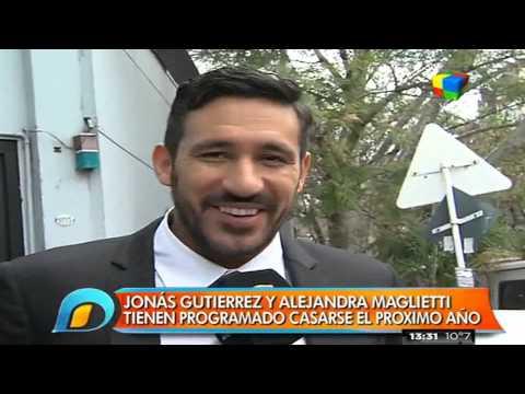 Alejandra Maglietti y Jonás Gutiérrez ya tienen fecha de casamiento