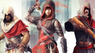 Assassin's Creed Chronicles All Cutscenes (China, India, Russia) Game Movie 1080p HD