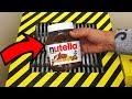 EXPERIMENT Shredding Nutella