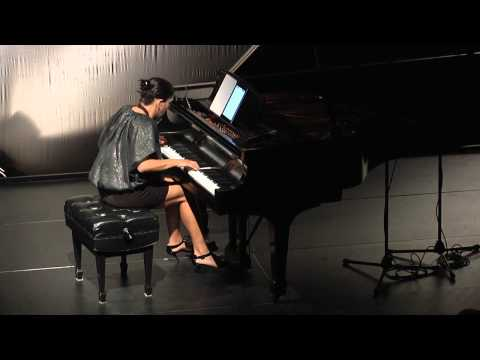 """Lara Downes, piano."" - Live at the Mondavi Center for the Performing Arts, UC Davis"