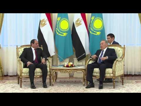 Президент Египта назвал цель своего визита в Казахстан