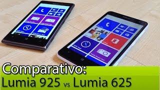 Comparativo: Lumia 925 vs Lumia 625 | Tudocelular.com