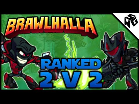 Ranked 2v2 w/ Kirill! - Brawlhalla Gameplay :: Double Vraxx Attack!
