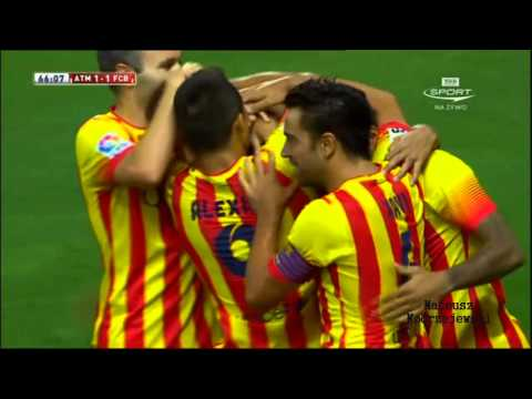 Atletico Madrid vs Barcelona 1 1 All Goals and Highlights 22.08.2013 HD
