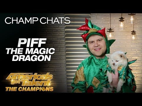 Piff The Magic Dragon Recalls Heidi's Reaction To Mr. Piffles - America's Got Talent: The Champions