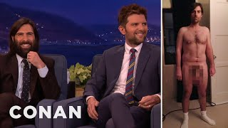 Download Song Adam Scott & Jason Schwartzman On Their Prosthetic Junk  - CONAN on TBS Free StafaMp3