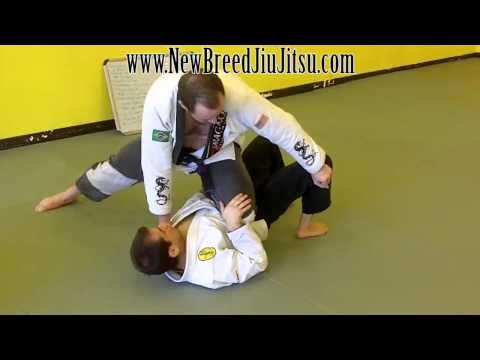 Knee on Belly Escape, Bump to Half Guard- Jiu Jitsu Technique Image 1