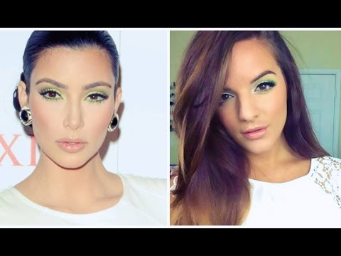 Kim Kardashian Inspired Makeup Tutorial