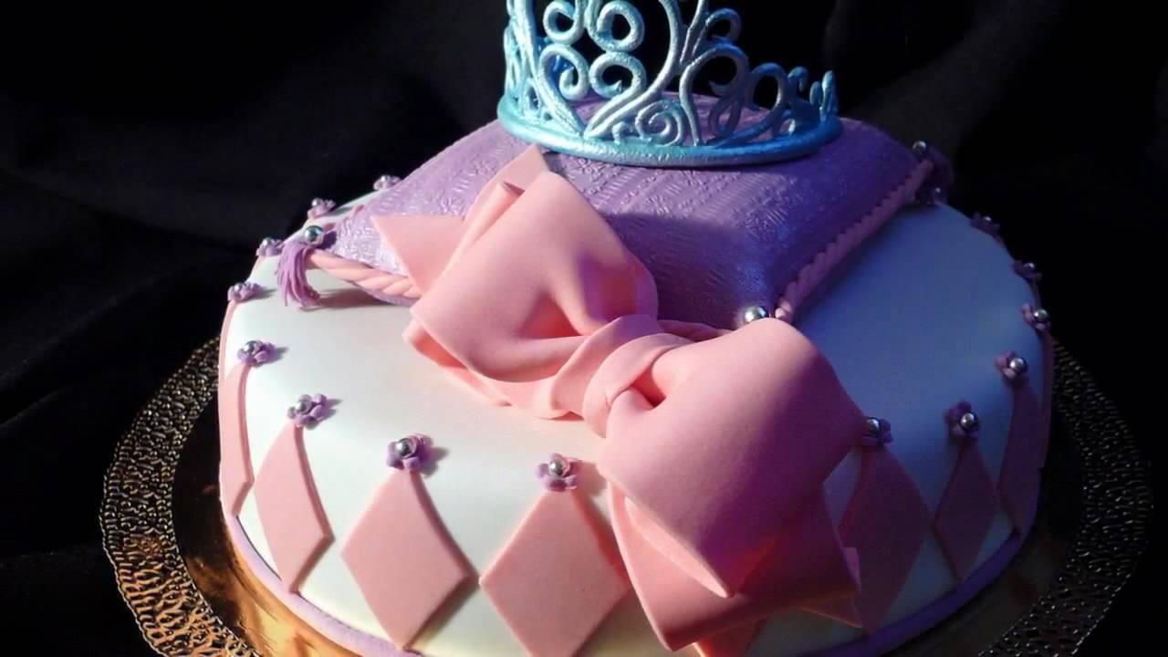 Торт в стиле принцессы своими руками 40