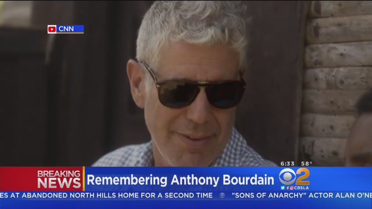 Celebrity Chef, 'Parts Unknown' Host Anthony Bourdain Dead At 61