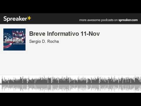 Breve Informativo 11-Nov (hecho con Spreaker)