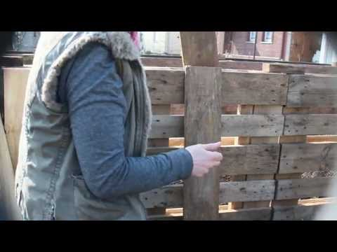 Hochbeet Selber Bauen Aus Euro-Paletten