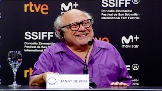 Rueda de Prensa ''DANNY DEVITO'' (Premio Donostia) V.O. - 2018