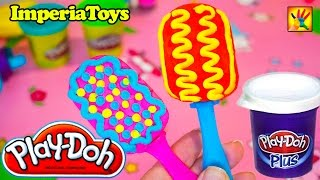 Play Doh Popsicles Ice Cream Play-Doh DohVinci Playdough ImperiaToys