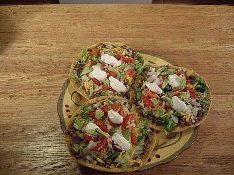 EZ Delicious Homemade Tostadas!