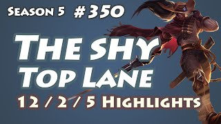 The shy - Yasuo vs Riven - KR LOL SoloQ Highlights