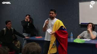 Levei um venezuelano na USP