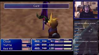 Final Fantasy VII - How to Get Aqualung Enemy Skill