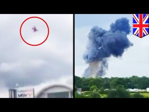 Pilot killed in plane stunt crash during CarFest at Oulton Park, England - TomoNews