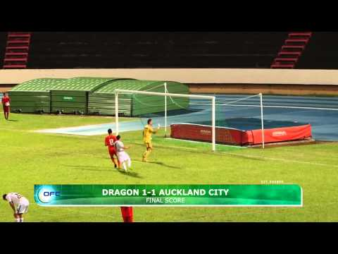 2013 OFC Champions League 2013.04.28 AS Dragon vs Auckland City FC Highlights
