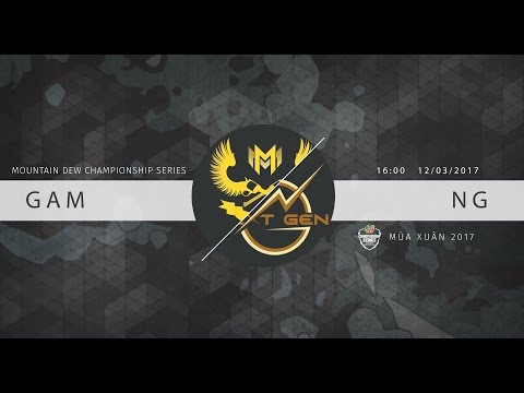 [15.03.17] Highlight: GAM vs NG [MDCS Spring 2017]