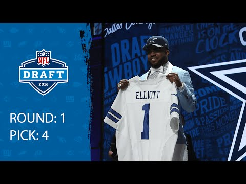 Ezekiel Elliott (RB) | Pick 4: Dallas Cowboys | 2016 NFL Draft