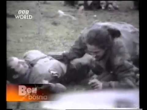 Martin Bell BBC News - Report on Fighting in Bosnia, 1994