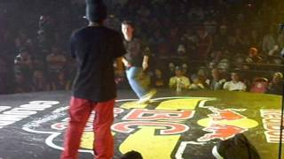 Red Bull BC One Colombia Cypher 2011 - Bboy Conejo Vs Bboy Dm.