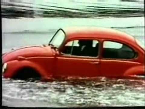 Publicité Volkswagen – la coccinelle flottante