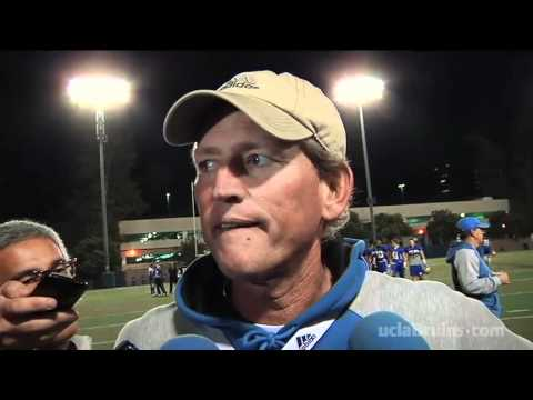 Rick Neuheisel After Practice, 11-29-11
