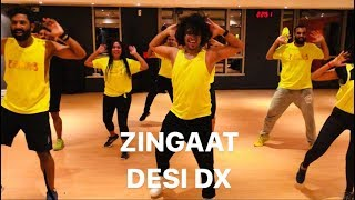 Zingaat | Desi Dance Exercise | Desi Dx | Ansar Khan Choreography |
