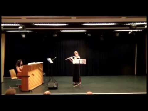 Georges Hüe - Fantaisie (Natasha Valery, Flute; Natalya Malkova, Piano)