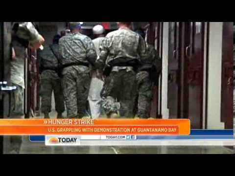 Guantanamo prisoners call force feeding 'agony
