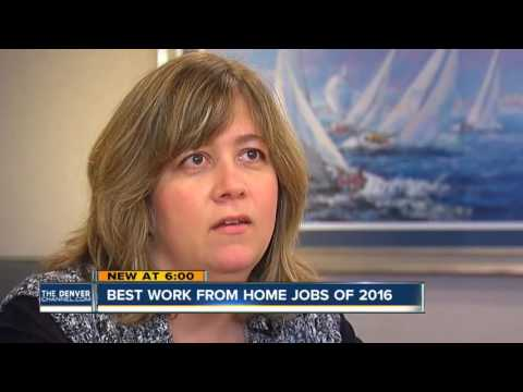 Best work from home jobs in 2016