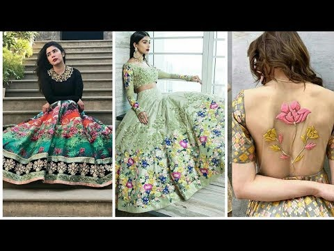 Latest Floor Length Party Wear Dress Designs For Girls 2018 - Fashion Trend