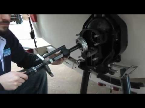 Mallory Marine - Gimbal Bearing Removal and Replacement ...