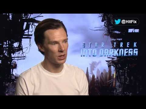 Star Trek Into Darkness - Benedict Cumberbatch Interview  - Spoiler Alert