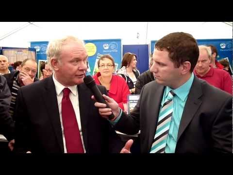 Macra National President interviews Martin McGuinness