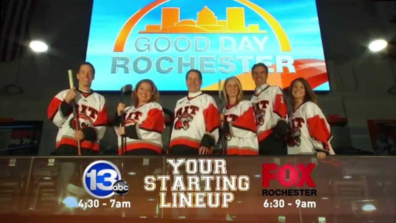 Good day rochester quot starting lineup quot promo youtube