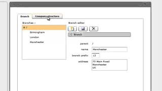 configure your company structure with VoipSwitch IP PBX module