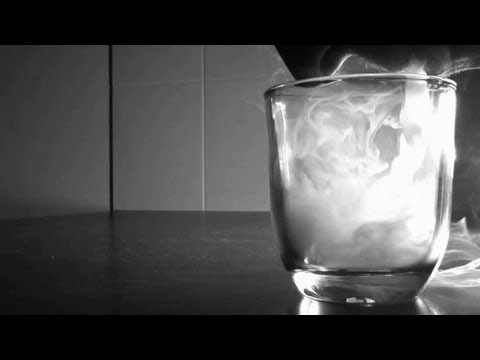 Liquid Smoke in a Glass (HD)