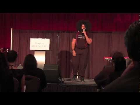 APAP|NYC 2013 Keynote with Reggie Watts