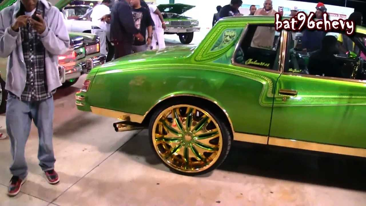 GREEN Amp GOLD 79 Chevy Monte Carlo On Gold 24s 1080p HD