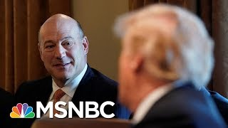President Donald Trump Thanks Gary Cohn, Envisions Him Returning To White House | MSNBC
