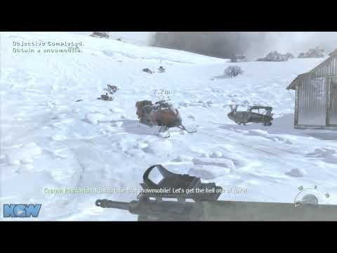 Modern Warfare 2 Veteran Difficulty Walkthrough - Cliffhanger - Plan B