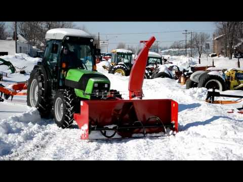 Front Mount Agro Trend Snow Blower