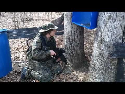 NJ Airsoft Battle 2011 - MP5. SCAR. G36. M4