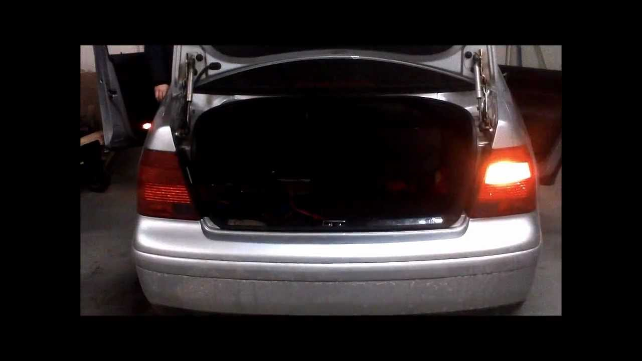 jetta tail light replacement youtube
