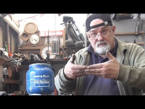 how i built my bottle drip for the shed heater ( oil burner )