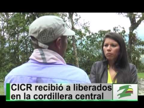 Las Farc entregan al Comité Internacional de la Cruz Roja a dos supuestos espías del Ejército